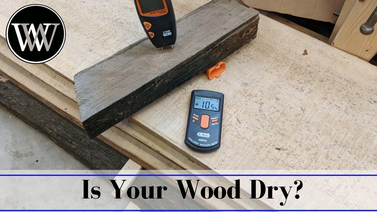 Drying Cherry Wood