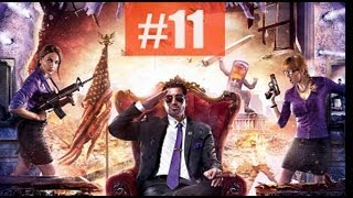 Saints Row 4 IV Part 11 The Warden Stomp Walkthrough