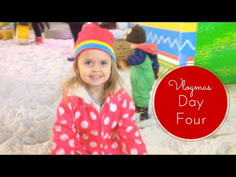 Vlogmas Day 4: Visiting The Snow Park At Chill Factore