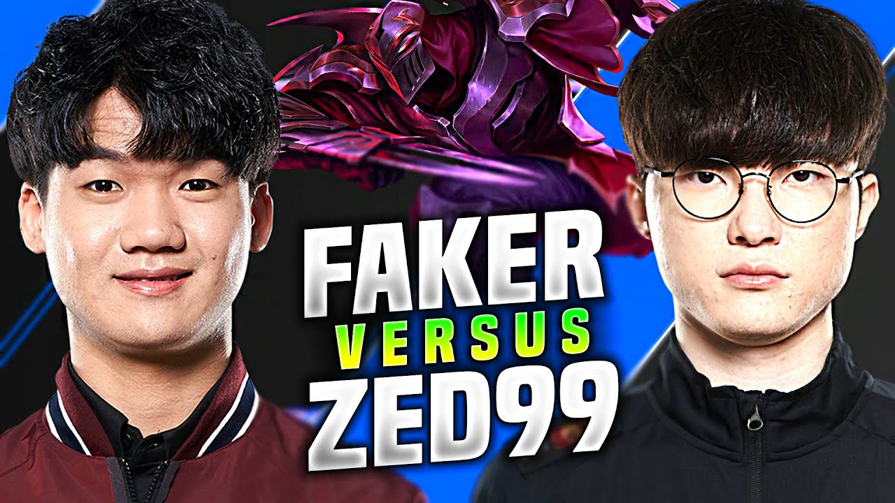 WILL FAKER CARRY THIS GAME? vs ZED99 - T1 Faker Plays Sylas Mid vs ZED99! | KR SoloQ Patch 10.18
