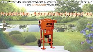 ATIKA Produktfilm - Betonmischer Compact 100
