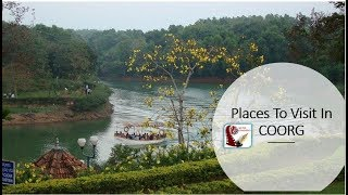 Places to visit in  Coorg   Picnic spot & Tourist Attraction   Kerala Tourism India Travel
