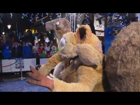 Ice Age 4: Continental Drift Queenstown Air NZ Premiere Sid Shuffle