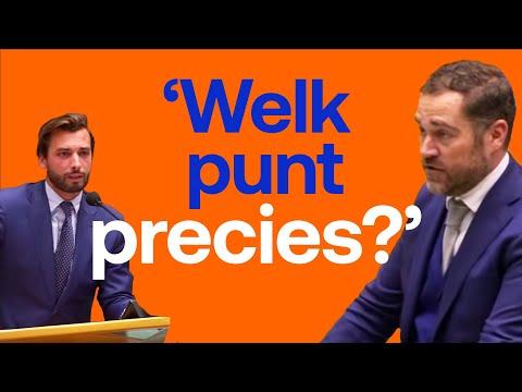"""Klaas Dijkhoff vs Thierry Baudet - """"Welk punt precies?"""""""