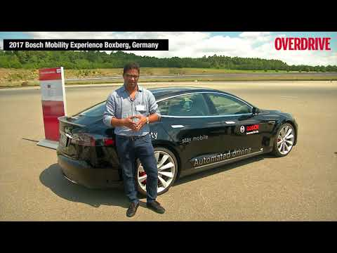 BOSCH Mobility experience: Experiencing the level 3 autonomous car