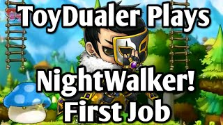Maplestory: Lets Play NightWalker! - First Job