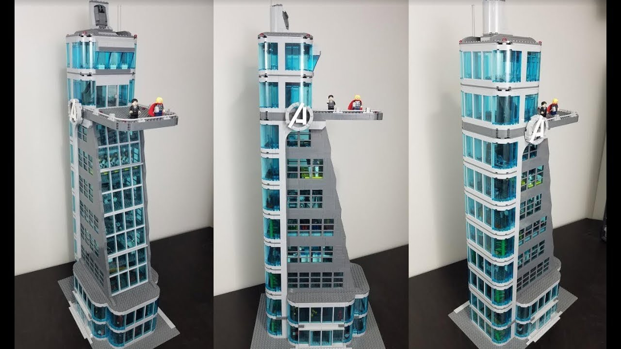 How to Build a LEGO Avengers Tower - YouTube