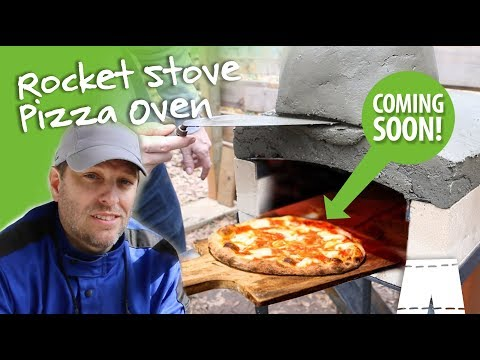 How To Make A Rocket Stove Pizza Oven | Part 2