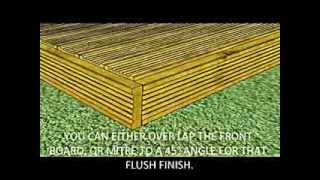 How To Build Garden Decking | Video Guide | Ruby Uk