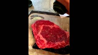 Holy Cow Cooking Show - Rib Eye Steak #BeefPolitics