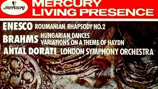 Brahms - 16 Hungarian Dances (reference recording : Antal Dorati)