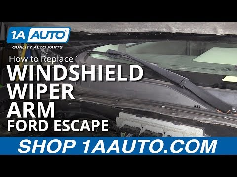 How to Replace Windshield Wiper Arm 08-12 Ford Escape