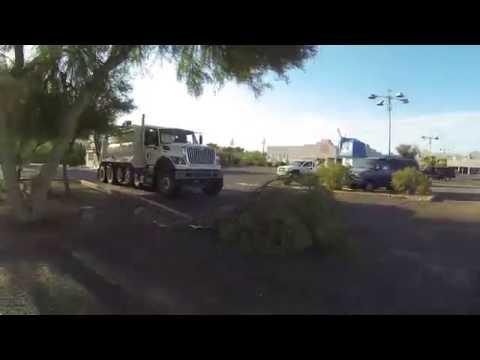 Ajo Way, AZ SR 86 to I-19 then Interstate 10 Freeway, Tucson, Arizona, 28 July 2016 GP060045