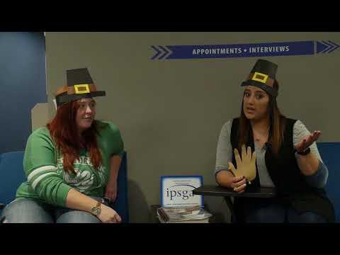 IPFW Career Services Weekly Career Peer Podcast November 13 2017