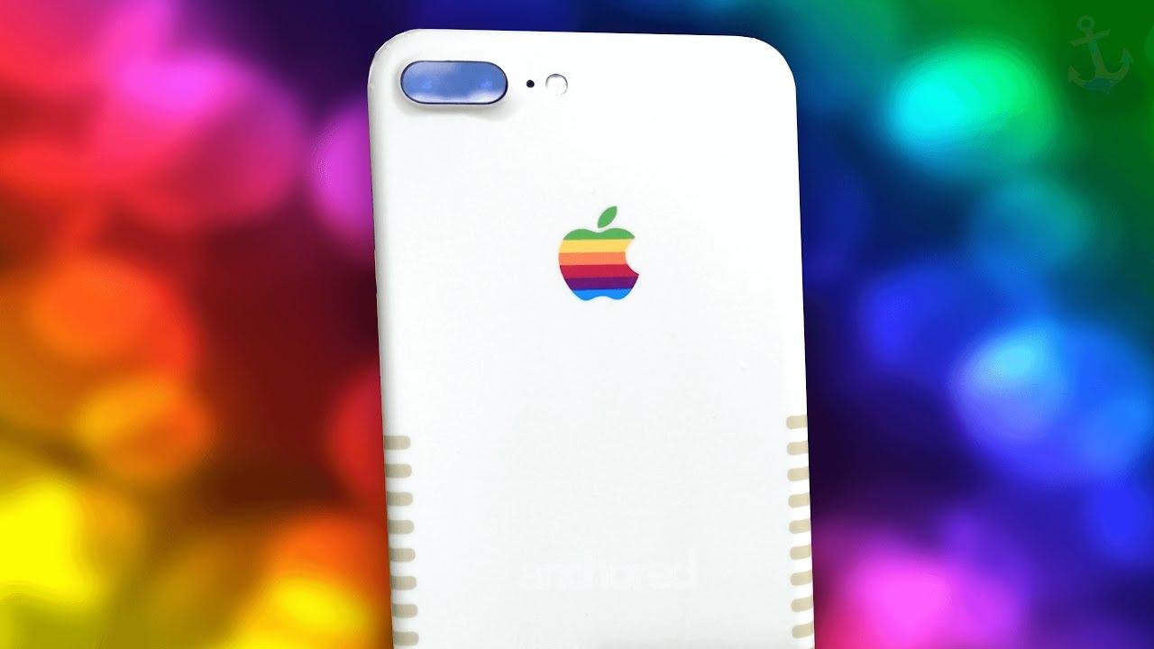 cheap for discount 1a585 8c02c Meet the Retro iPhone 7 Plus!