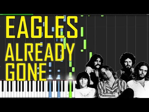 Eagles Already Gone Piano Tutorial Chords How To Play Cover
