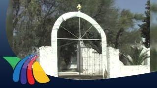 Roban campana de iglesia en Hidalgo