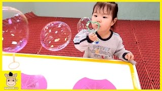 Indoor Playground for Kids and Family Fun Bubble at Kids Cafe | MariAndKids Toys