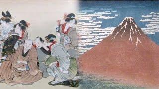 江戸後期の浮世絵師、葛飾北斎の作品を集めた美術館が東京都墨田区で開...