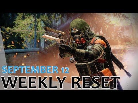 Destiny 2 Weekly Reset - September 12