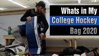Whats In my College Hockey Goa…
