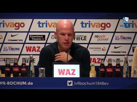 Die Pressekonferenz vor der Partie SSV Jahn Regensburg - VfL Bochum 1848