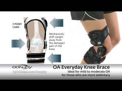 a1a73018ea DonJoy - Osteoarthritis Knee Braces - YouTube