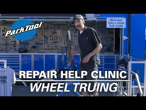 Repair Help Clinic: Wheel Truing (Live at Sea Otter 2018)