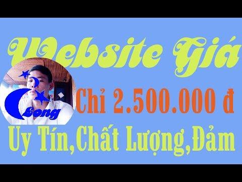 web giá rẻ , lam logo gia re