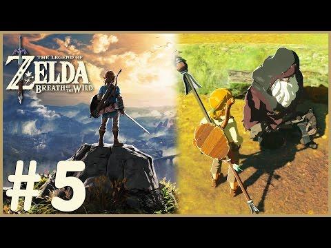 Zelda: Breath Of The Wild - Climb To Shrine (5)