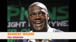 Deontay Wilder Next Fight Info; Remembers Muhammad Ali