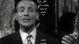الهادي الجويني - مفتون بخرزة عينيها(parole)