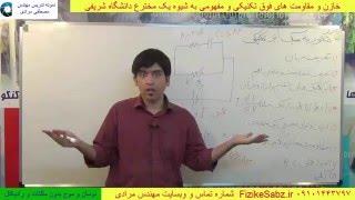 حل فوق تکنیکی و ساده یک تست RC فیزیک کنکور از استاد مصطفی مرادی
