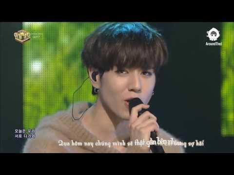 [Vietsub][AroundTheJ] 161002 GOT7 - Let Me @ Comeback Stage SBS | Inkigayo