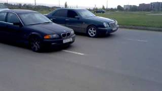 Mercedes-Benz E320 VS BMW 328i Georgia Tbilisi