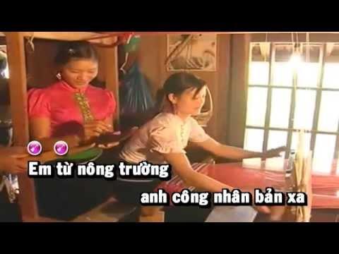 [HD] Karaoke Hát dưới cây đào Tô Hiệu - full beat (Karaoke by Kgmnc)