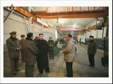 Kim Jong Un visit the Rocket Launches February 2017