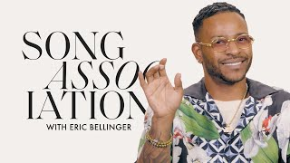 """Eric Bellinger Sings Musiq Soulchild, Fugees and """"Only Fan"""" in a Game of Song Association 
