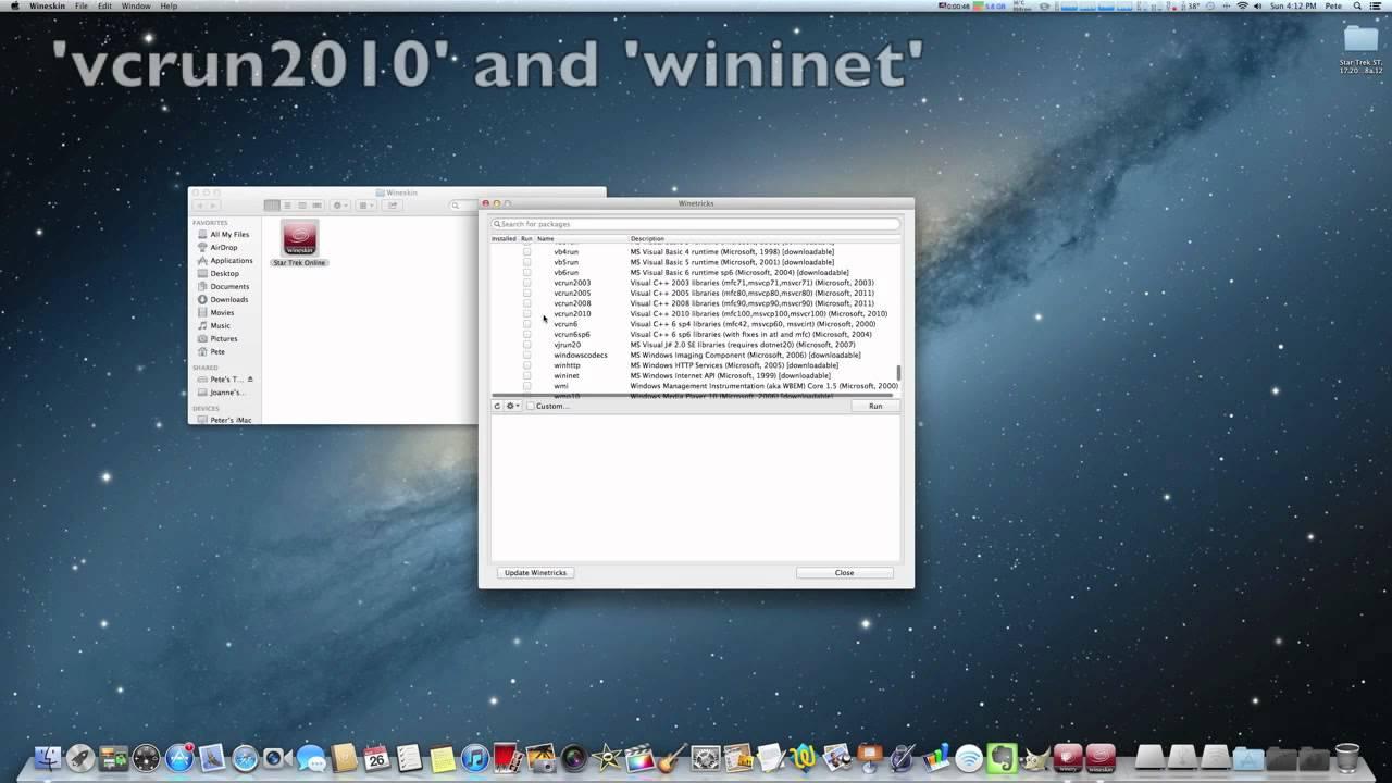Wineskin Mac Os X