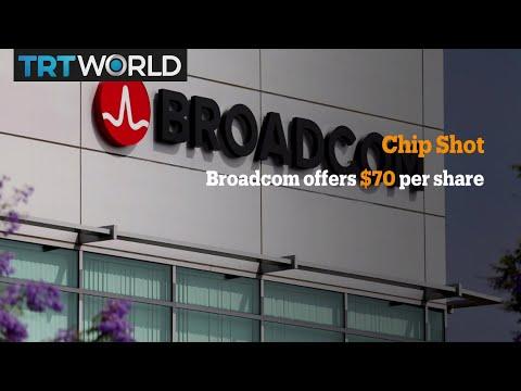 Money Talks: Broadcom bids to buy chipmaker Qualcomm