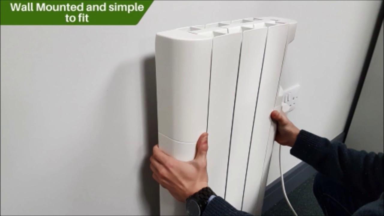 Futura Eco Electric Wall Mounted Oil Filled Radiator Key