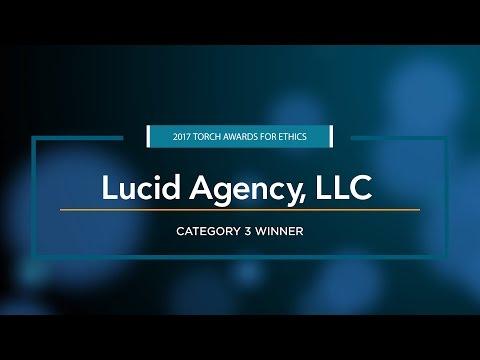 2017 Torch Awards for Ethics Winner: Lucid Agency, LLC