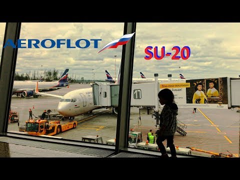 FLIGHTREPORT | SU-20 | Boeing 737-800 | (SVO-LED) | Москва-Санкт-Петербург АЭРОФЛОТ