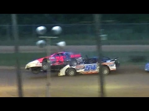 Street Stock Feature | McKean County Raceway | 7-28-16 - dirt track racing video image