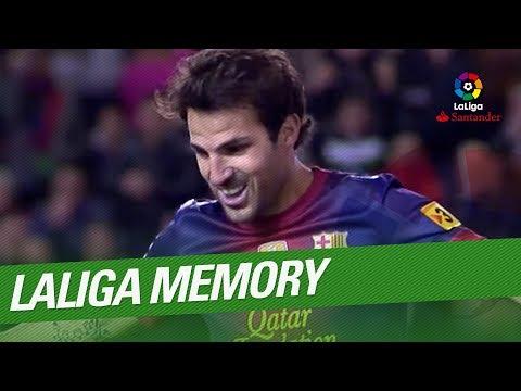 LaLiga Memory: Cesc Fabregas Best Goals and Skills