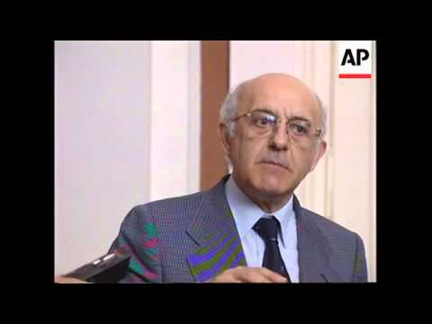 Bosnia-UN War Crimes Tribunal Chief Judge Cassese