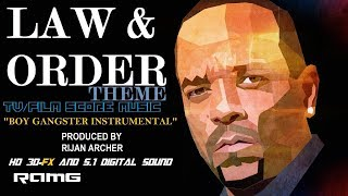 "TV/Film Theme Score Music - Law & Order - ""Boy Gangster Instrumental"" - Produced by Rijan Archer"