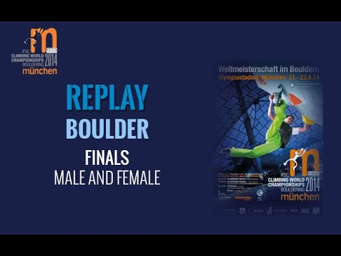 IFSC Climbing World Championships Munich 2014 - Boulder - Final - Men/Women