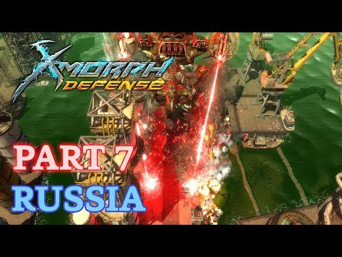 X-Morph: Defense Walkthrough - New Game - Part 7: Russia (No Commentary)