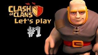 #1 Let's play CoC . [česky] Clash of Clans!